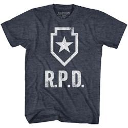 Resident Evil - Mens Rpd T-Shirt