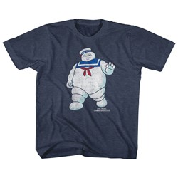 The Real Ghostbusters - Unisex-Child Mr Stay Puft 2 T-Shirt