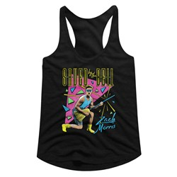 Saved By The Bell - Womens Zack Splosion Racerback Top