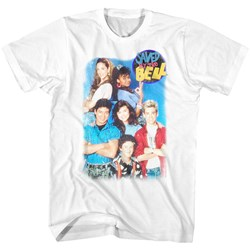 Saved By The Bell - Mens Group Shot T-Shirt