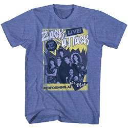 Saved By The Bell - Mens Zack Attack Live! T-Shirt