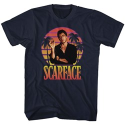 Scarface - Mens Miami Sunset T-Shirt