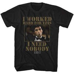 Scarface - Mens Nobody T-Shirt