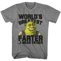 Shrek - Mens Greatest Farter T-Shirt