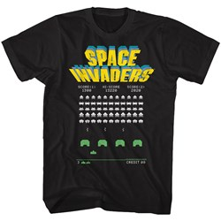 Space Invaders - Mens Old Screen T-Shirt