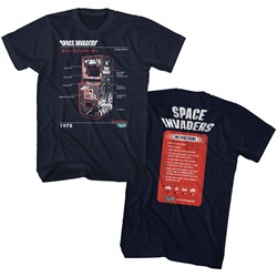 Space Invaders - Mens Cab T-Shirt