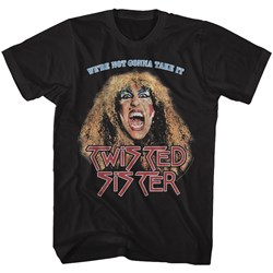 Twisted Sister - Mens Not Gonna Take It T-Shirt