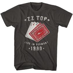 Zz Top - Mens Cards T-Shirt