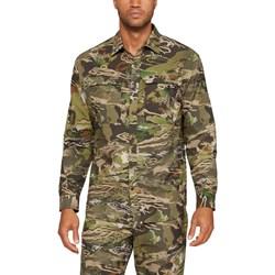 Under Armour - Mens NFZ AV Button Down Long-Sleeves T-Shirt