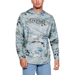 Under Armour - Mens UA Camo Tech Terry Hoodie Fleece Top