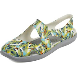 Crocs - Womens Swiftwater Wave Graphic Clog Shoes