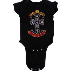 Guns n Roses - Unisex-Baby Afd Cross Onesie