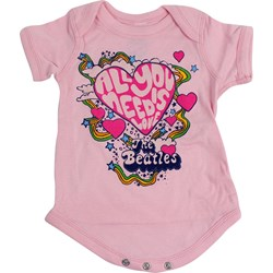 Beatles, The - Baby All You Need Is Love Onesie