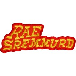 Rae Sremmurd -  Raw Logo Patch