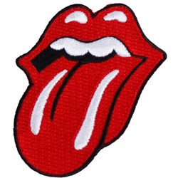 The Rolling Stones -  Cut Out Tongue Patch