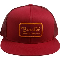 Brixton - Unisex-Adult Grade Mesh Snapback Hat