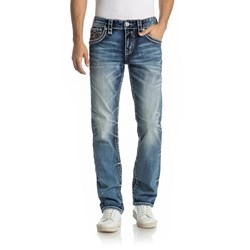 Rock Revival - Mens Scipio J202 Straight Jeans