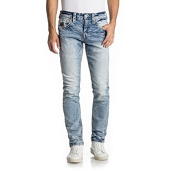 Rock Revival - Mens Scotty A202 Alternative Straight Jeans