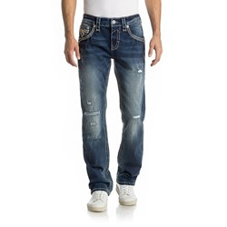 Rock Revival - Mens Pregler J201 Straight Jeans