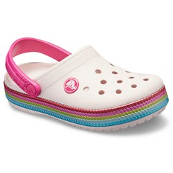 Crocs - Unisex Kids Crocband Sequin Band Clog