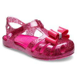 Crocs - Girls Isabella Bow Embellished Sandal