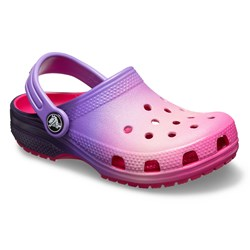 Crocs - Unisex KidsClassic Ombre Clog
