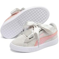 PUMA - Unisex-Baby Suede Heart Circles Pre-School Shoes
