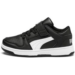 PUMA - Unisex-Baby Puma Rebound Layup Lo Sl with Fastner Pre-School Shoes