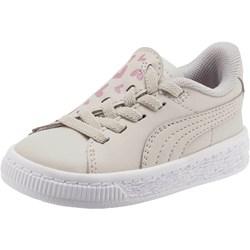 PUMA - Unisex-Baby Basket Crush Glitter Hearts Ac Shoes