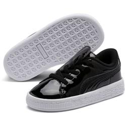 PUMA - Unisex-Baby Basket Crush Patent Ac Shoes