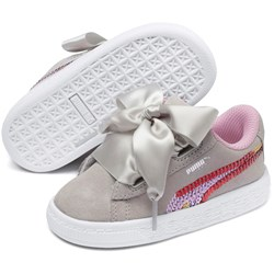 PUMA - Unisex-Baby Suede Heart Trailblazer Sqn Shoes