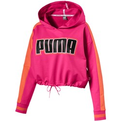 PUMA - Womens Rebel Reload Cropped Hoodie