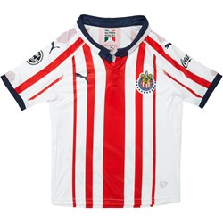 PUMA - Unisex-Child Chivas Home S Rep 18-19