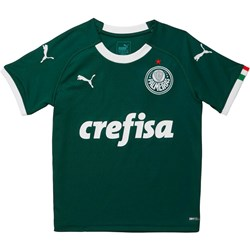 PUMA - Unisex-Child Palmeiras Replica Home Jersey I
