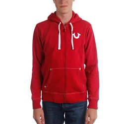 True Religion - Mens Classic Logo Zip Up Hoodie