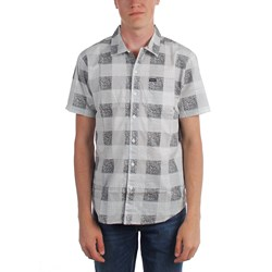 Brixton - Mens Charter Plaid Short Sleeve Shirt