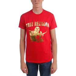 True Religion - Mens Buddha Ss Crew Neck T-Shirt