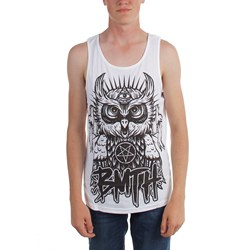 Bring Me The Horizon - Mens Owl Tank Tank Top in White