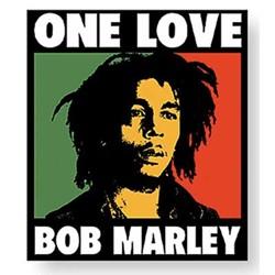 Bob Marley - One Love Box unisex-adult Sticker in NA