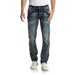 Rock Revival -Mens Alard A202 Alt Straight Jeans