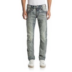 Rock Revival - Mens Baxter A207 Alt Straight Jeans