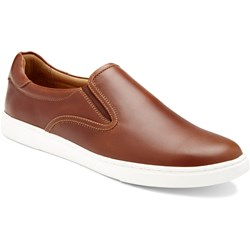 Vionic - Mens Mott Brody Leather Slip On Shoes