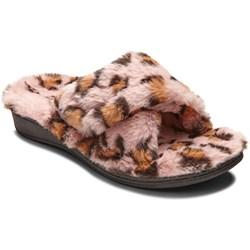 Vionic - Womens Indulge Relax Leopard Slipper