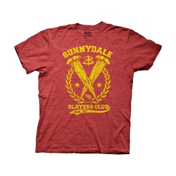 Buffy The Vampire Slayer - Mens Buffy Sunnydale Slayers Club T-Shirt