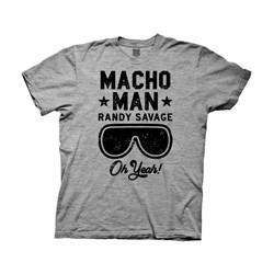 Wwe - Mens Wwe Macho Man Randy Savage Oh Yeah T-Shirt