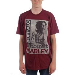 Bob Marley - Mens Buffalo Soldier T-Shirt