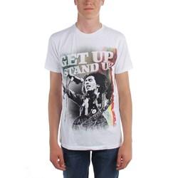 Bob Marley - Mens Get Up Stand Up T-Shirt