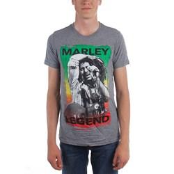 Bob Marley - Mens Legend Brushed T-Shirt