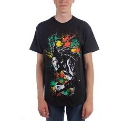 Bob Marley - Mens Splatter T-Shirt