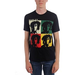 Bob Marley - Mens Faces T-Shirt